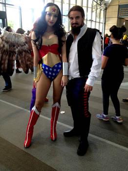 Wonder Woman and Hairy Han