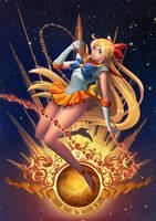 Sailor Venus by elaszer