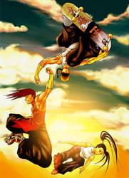 Street Fighter Fan Art by elaszer
