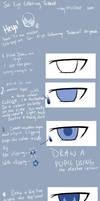 Anime Eye Colouring Tutorial