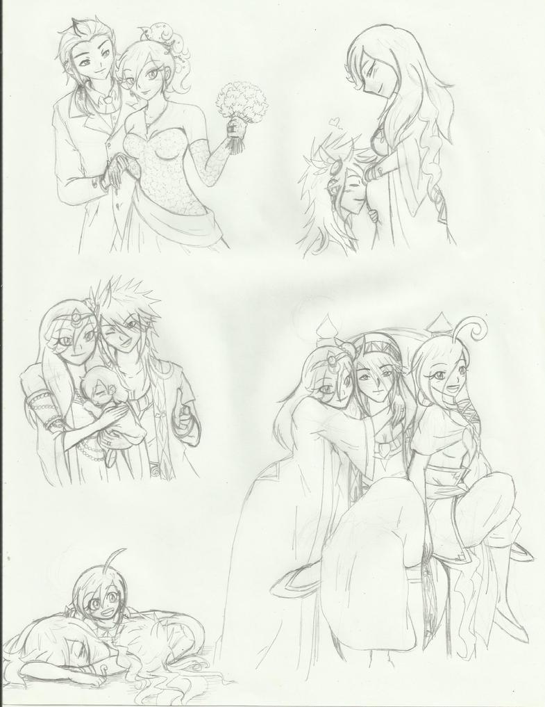 sketchs royal family by guchi-22