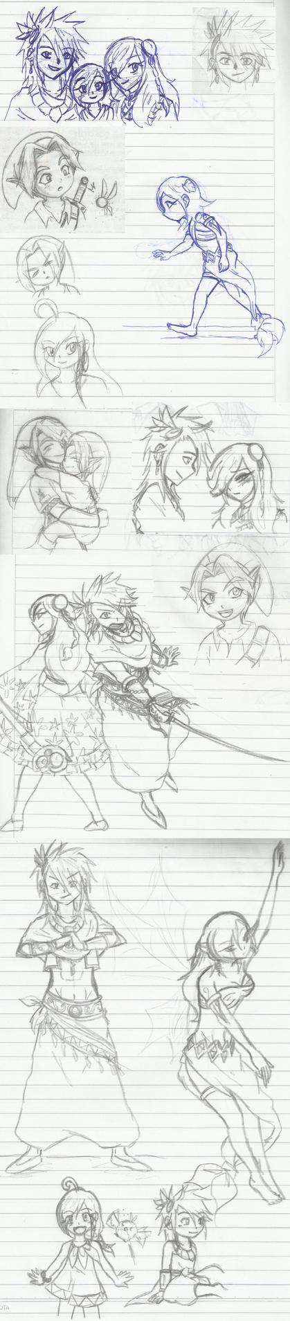 sketches by guchi-22