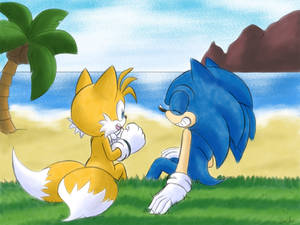 January-Sonic and Tails month