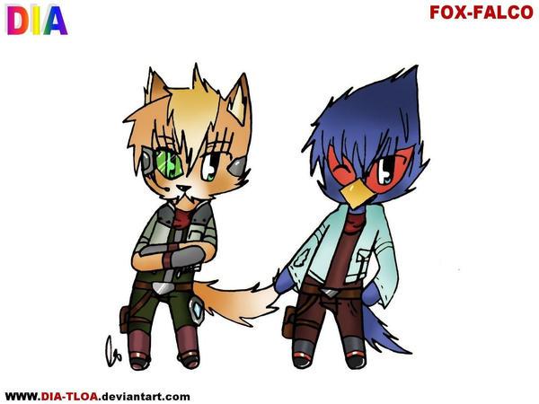 Falco Ssbb Ssbb -fox and falco- by dia-Falco Ssbb Drawings