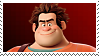 Wreck It Ralph:  Ralph Stamp by DIA-TLOA