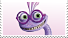 Monster University: Randall Stamp by DIA-TLOA