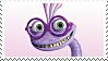 Monster University: Randall Stamp by DIA-TLOA