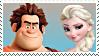 RalphXElsa Stamp by DIIA-Starlight