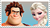 RalphXElsa Stamp by DIA-TLOA