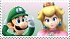 Brawl! LuigiXPeach Stamp by DIIA-Starlight
