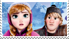 Frozen: Anna and  Kristoff Stamp by DIIA-Starlight