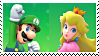 LuigiXPeach Stamp02 by DIIA-Starlight