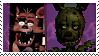 Springtrap X Foxy Stamp by DIA-TLOA