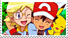 Ash x Clemont02 :Stamp by DIA-TLOA