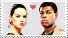 Finn X Rey: Stamp : by DIIA-Starlight