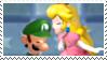 (NewSuperLuigiU: Luigi x Peach 06 stamp) by DIIA-Starlight