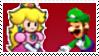 Luigi X Paper Peach (MyLPG) Stamp 08 by DIIA-Starlight