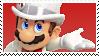 Mario Tuxedo Stamp by DIIA-Starlight
