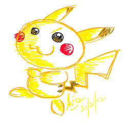 Pikachu by dsam4