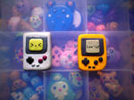polymer clay gameboy and gameboy pocket