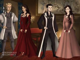 James, Kaylyn, Scott, Lisa-Tudors