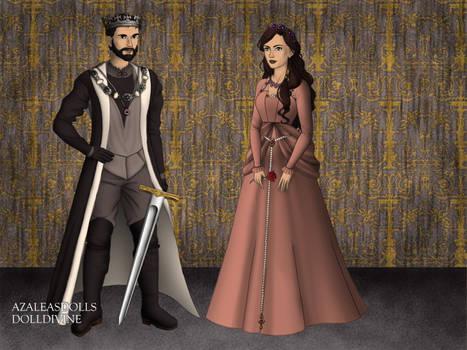 Scott and Lisa as Tudors