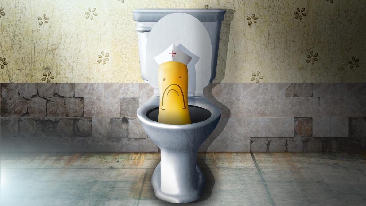 Toilet Nurse Uligo by TigerboyPT