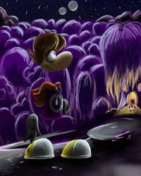 Rayman and Glade of Dreams by the-dashket
