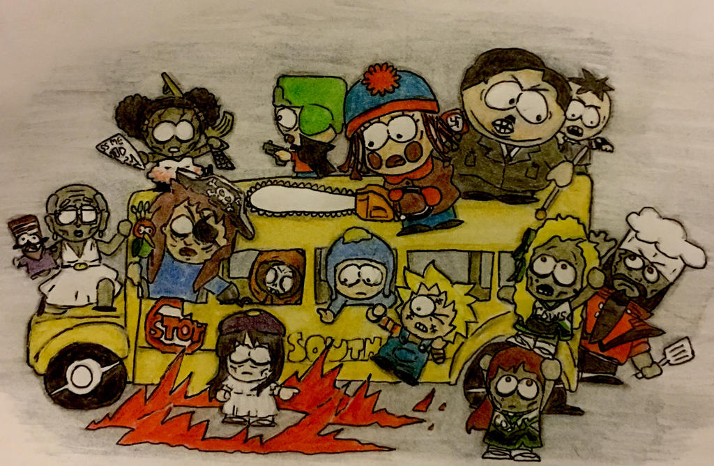 South Park Halloween! by CatDogHeffer on DeviantArt