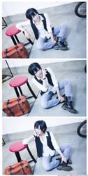Yowamushi Pedal: Arakita Fashion Spread by arisatou