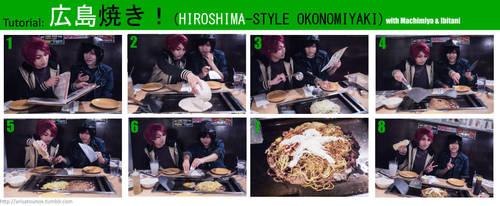 Yowamushi Pedal: Hiroshimayaki tutorial! by arisatou