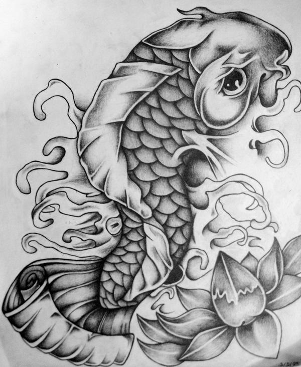 Japanese Koi Fish Tattoo Designs Gallery 7