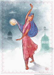 Indian Dancer for the May's CDC by Andoc88