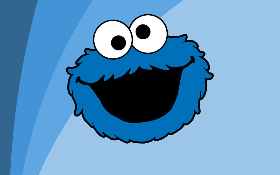 Cookie Monster Wallpaper by LittleJakub