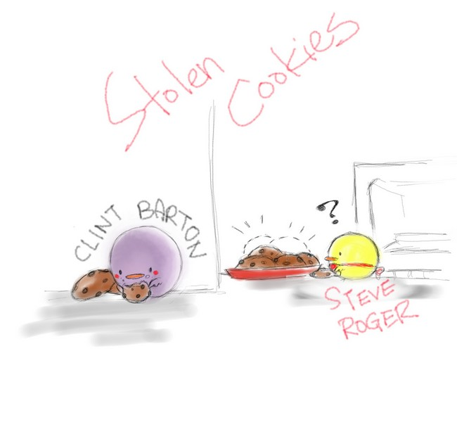[doodles] Case1: THE stolen cookies by joker4msy