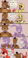 Freddy the babysitter by MarlArtsCE