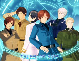 .: Tales of Axis :. Title Screen [Updated!] by AoSapphire