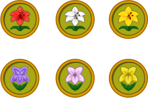 Animal Crossing New Leaf Flower Icons by JedsOtherPoem