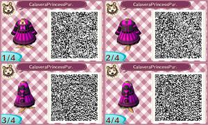 Calavera Princess in Purple