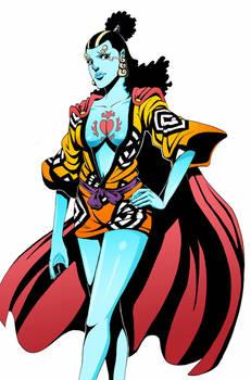 Jinbei, knight of the sea