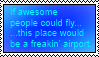 [STAMP] If awesome people could fly... by Mcingake