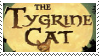 The Tygrine Cat stamp by Mcingake
