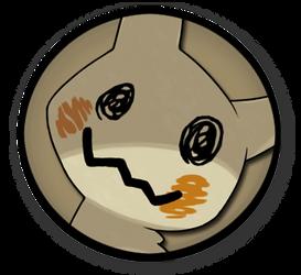 Interest Button - Mimikyu by TheInterestButtons