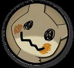 (v1) Interest Button - Mimikyu by TheInterestButtons