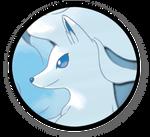 (v1) Interest Button #70 - Ninetales (Alolan Form) by TheInterestButtons