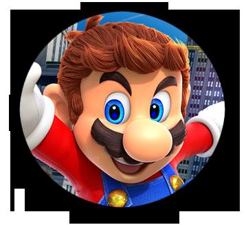 Interest Button - Super Mario Odyssey by TheInterestButtons