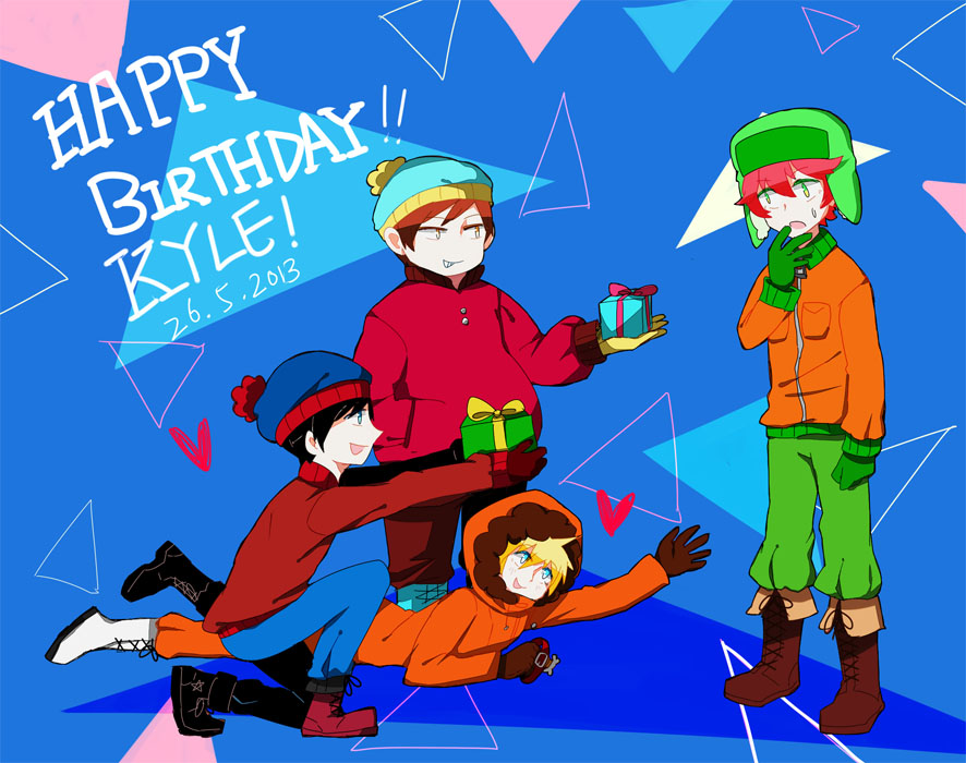 HAPPY BIRTHDAY!!KYLE by shiron2611