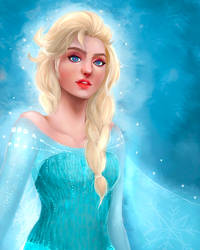 Elsa from Frozen by nayara