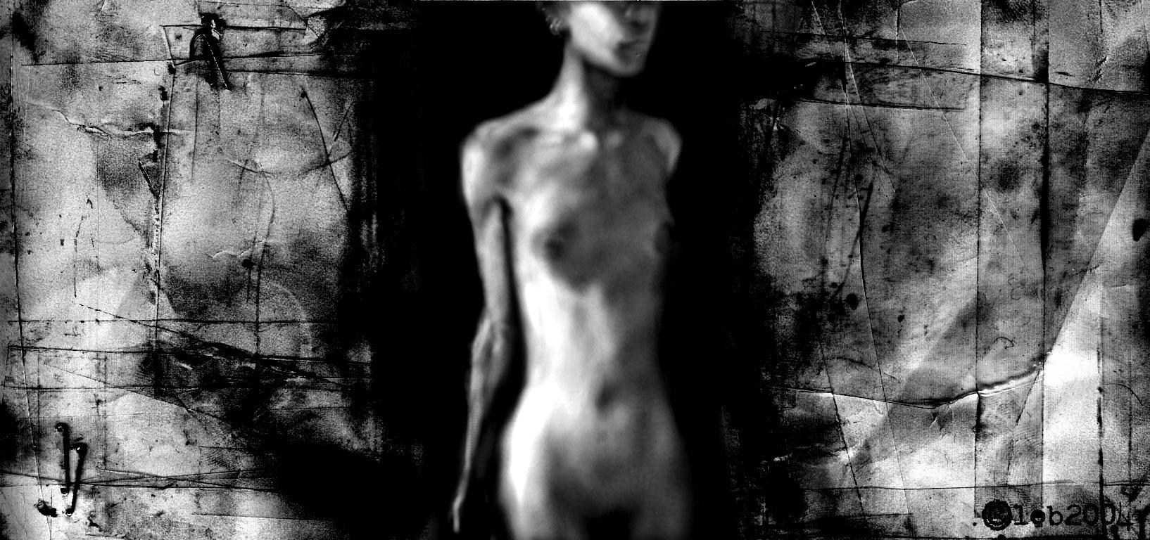 figure study -doona sleepwalks by leb
