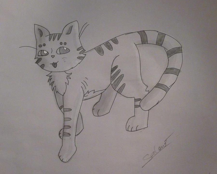 Cat manga by Scapinou